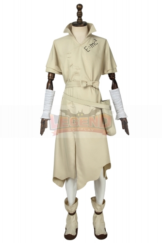Cosplaylegend Dr.Stone Senku Ishigami Cosplay Costume Adult Halloween Fancy Party Suit