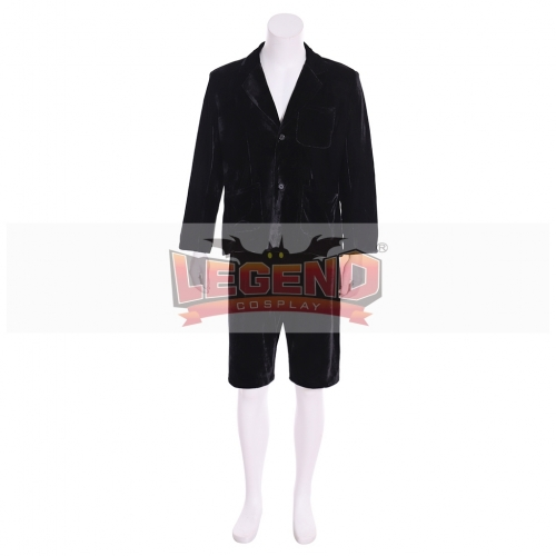 Cosplaylegend Band AC/DC School Boy Angus Young Black Velvet Costume Made Adult Musical Famous AC/DC Cosplay costume