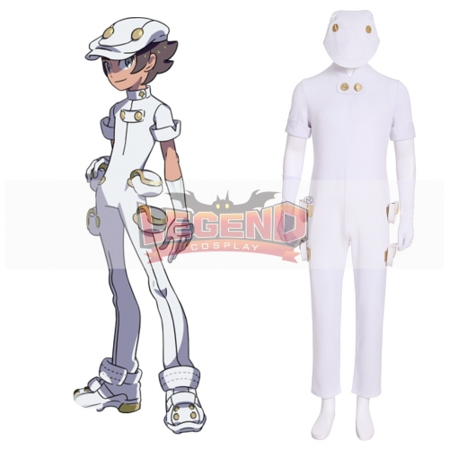 Cosplaylegend Pokemon Sun Moon Aether Foundation Employee Cosplay Costume custom made full set adult costume