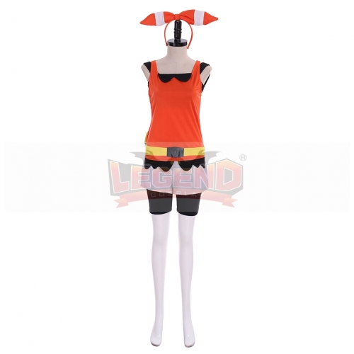 Cosplaylegend Game Pocket Monster Omega Ruby·Alpha Sapphire Cosplay Costume Girls Women Fancy Halloween Outfit