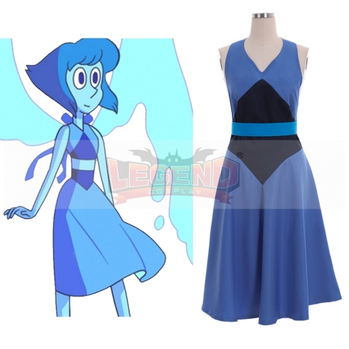 Cosplaylegend Steven Universe Lapis Cosplay Costume Women Girl Blue Dress Sexy Dresses Party Halloween Skirt Custom Made