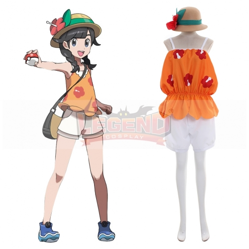 Cosplaylegend Pocket Monsters Ultra Sun Girls Costume Ultra Sun Cosplay Costume