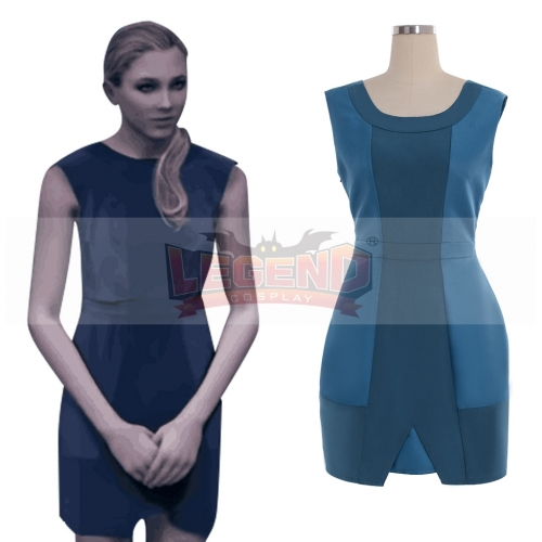 Cosplaylegend Detroit: Become Human Chloe Cosplay costume Dress blue dress