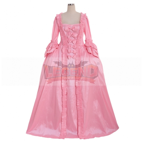 Cosplaylegend Custom Made Pink Rococo Marie Antoinette Gown Adult Women Fancy Belle Rococo Dress