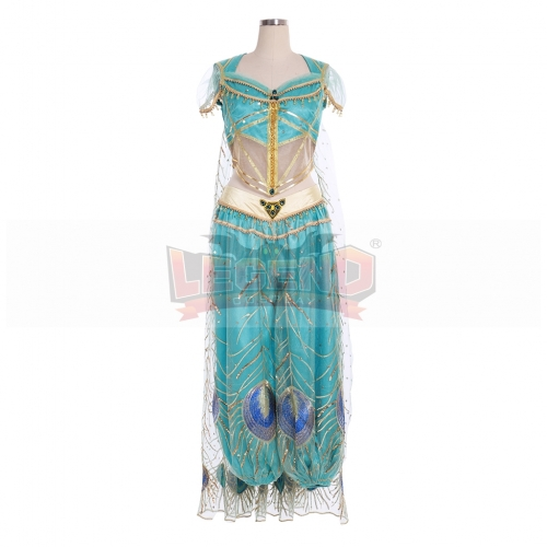 Cosplaylegend Custom Made Princess Aladdin Jasmine Cosplay Costume Adult Women Girls Halloween Fancy Suit