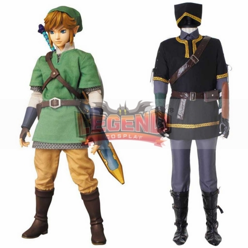 Cosplaylegend The Legend of Zelda Link Cosplay Costume Adult Mens Halloween Carnival Cosplay Outfit Custom Made