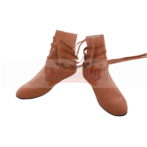 Cosplaylegend Medieval Tudor Cosplay Shoes Medieval Viking Festival LARP Shoes Boot
