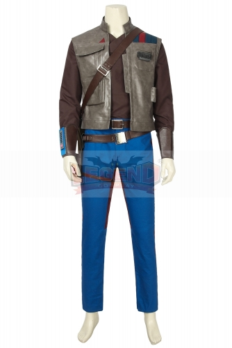 (without shoes) Movie Star Wars 9 Cosplay Costume The Rise Of Skywalker Finn Adult Halloween Party Custom Men Suit