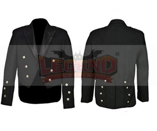 Cosplaylegend Prince Charlie Jacket With Waistcoat Scottish Cosplay Costume Coat Uniform custom made