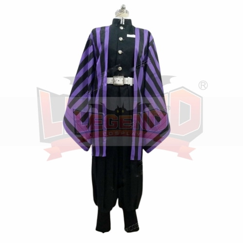 Cosplaylegend Anime Demon Slayer: Kimetsu no Yaiba Iguro Obanai Cosplay Costume Kimono adult costume custom made