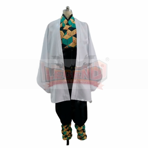 Cosplaylegend Anime Demon Slayer: Kimetsu no Yaiba Sabito Cosplay Costume Kimono adult costume custom made