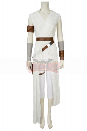 (Without Shoes) Star Wars Cosplay The Rise of Skywalker Rey Cosplay Costume Full Suit Halloween Carnival Costumes