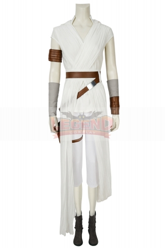 (With Shoes) Star Wars Cosplay The Rise of Skywalker Rey Cosplay Costume Full Suit Halloween Carnival Costumes