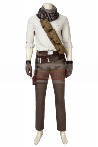 (Without Shoes) Star Wars 9 The Rise of Skywalker Poe Dameron Cosplay Costume