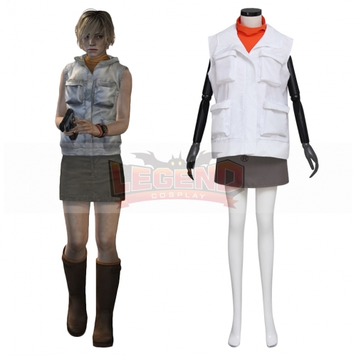 Cosplaylegend Movie Silent Hill Heather Mason Cosplay Costume Adult Women Halloween Scary Costume Clothing Custom Made