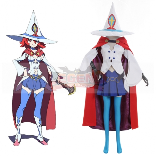 Cosplaylegend Anime Little Witch Academia Shiny Chariot Cosplay Costume Girls Women School Suit Costume