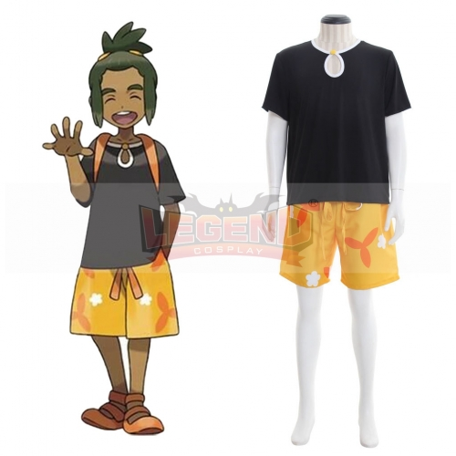 Cosplaylegend Pokemon Sun And Moon Hau Cosplay Costume Outfits Halloween Party Custom Made
