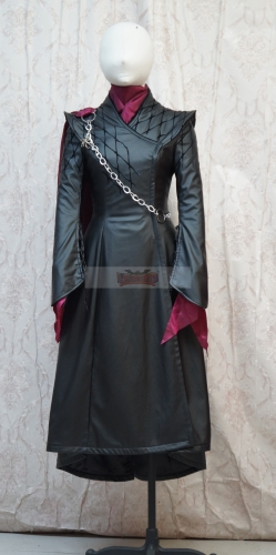 Cosplaylegend Game of Thrones Daenerys Targaryen Cosplay Costume dress Mother of Dragon Dress Halloween Carnival Outfit custom made