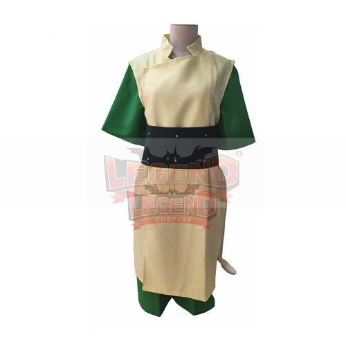 Cosplaylegend Avatar The Last Airbender Toph Beifong Cosplay Costume adult Halloween Costume full set custom made