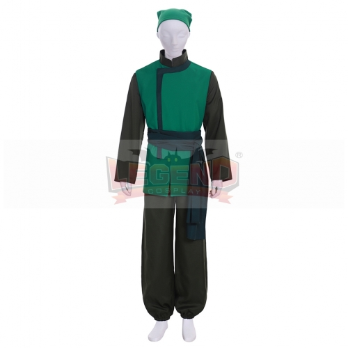 Avatar: The Last Airbender Cabbage Merchant Cosplay Costume
