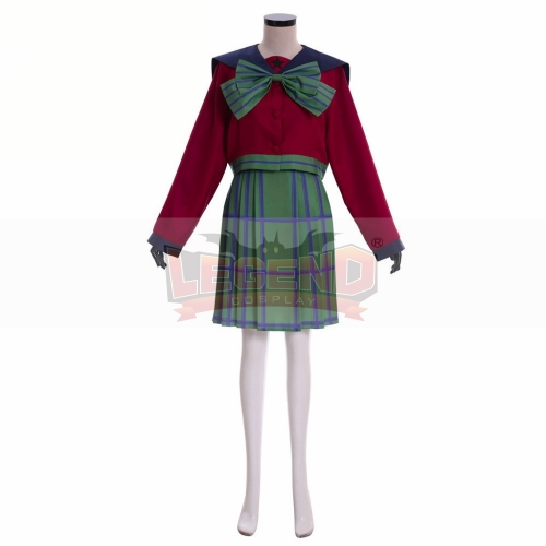 Cosplaylegend Sailor Moon Michiru Kaiou / Hotaru Tomoe Sailor Uranus mugen gakuen girls summer uniform cosplay dress halloween costumes