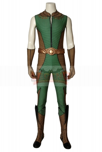 (With Shoes) The Boys Season 1 Costume THE DEEP Cosplay Jumpsuit Zentai Adult Men Superhero Halloween Carnival Outfit Custom Made