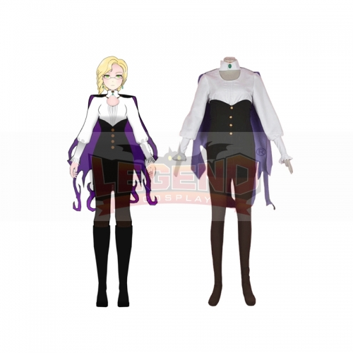 Cosplaylegend RWBY Beacon Academy staff Glynda Goodwitch Cosplay Costume Halloween Carnival Party Costumes Custom Made