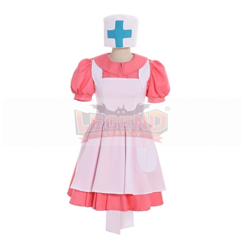 Cosplaylegend Pokemon Pocket Monsters Nurse Joy Cosplay Costume Full Set Anime Halloween Dress Uniform Custom made