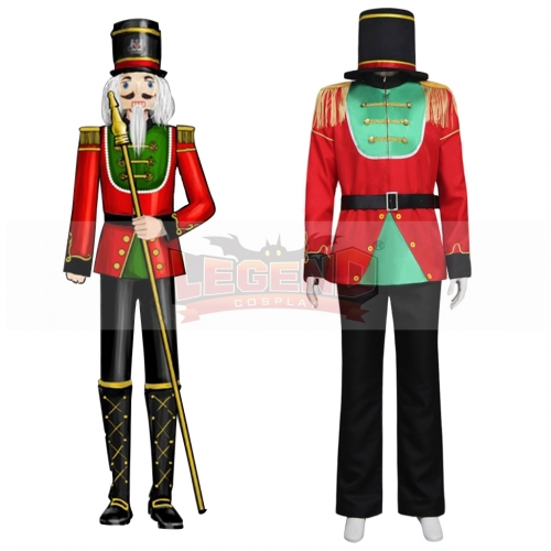Cosplaylegend Custom made The Nutcracker puppet stage cosplay costume Imperial Guard costume adult men uniform