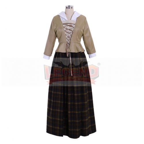 Cosplaylegend Outlander Scottish Cosplay Costume Adult Women Medieval Victorian Dress Custom Made