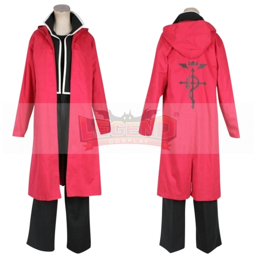 Cosplaylegend Anime Fullmetal Alchemist Edward Elric Cosplay Costume For Men