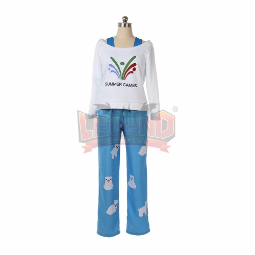 Cosplaylegend Games Overwatch Meiling Zhou Cosplay Costume  adult costume Sleepwear full set custom made