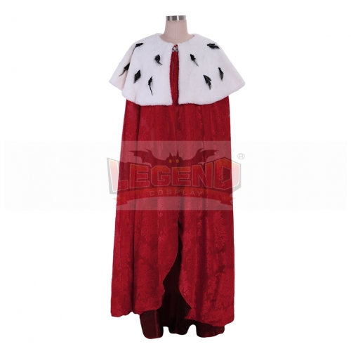 Cosplaylegend King George Washington Cosplay Costume Halloween King Queen Cape