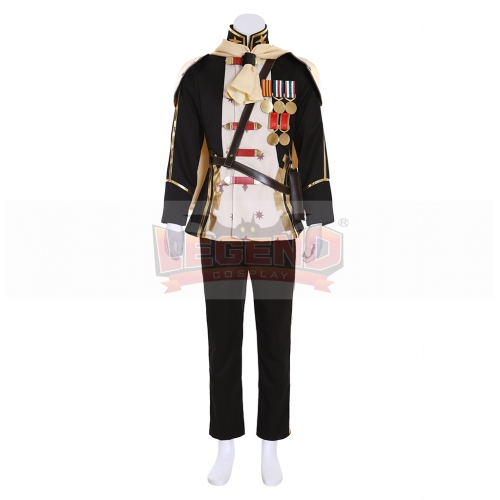 Cosplaylegend Game Final Fantasy Type-0 Ace Cosplay Costume Halloween Mens Uniform custom made