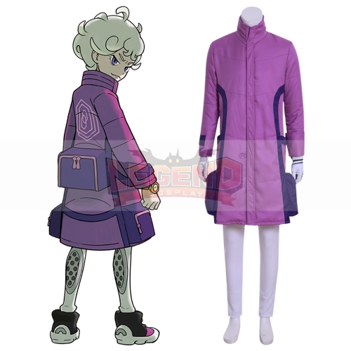 Cosplaylegend Anime Pokemon Sword And Shield Bede Cosplay Costume Halloween Carnival Suit Custom Made