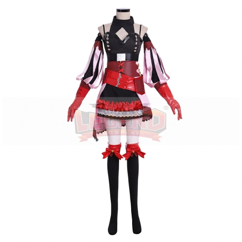 Cosplaylegend Fire Emblem Three Houses Hilda Timeskip Cosplay Costume Women Halloween Outfit
